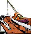 工程设备0068,工程设备,交通运输,吊车