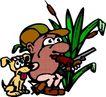 人豆0057,人豆,漫画卡通,花草 宠物
