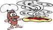 人豆0074,人豆,漫画卡通,煎饼 香味