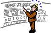 职业男性0540,职业男性,漫画卡通,