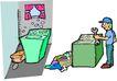 职业男性0546,职业男性,漫画卡通,