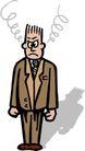 职业男性0553,职业男性,漫画卡通,
