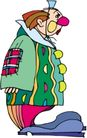 杂技0034,杂技,漫画卡通,一个小丑 大鞋子