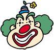 杂技0079,杂技,漫画卡通,滑稽小丑