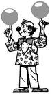 开心小丑0476,开心小丑,漫画卡通,