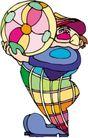 开心小丑0483,开心小丑,漫画卡通,