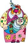 开心小丑0487,开心小丑,漫画卡通,