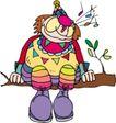 开心小丑0490,开心小丑,漫画卡通,