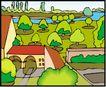 城市建筑0239,城市建筑,建筑装饰,