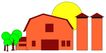 乡村景象0215,乡村景象,建筑装饰,