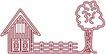乡村景象0217,乡村景象,建筑装饰,