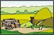 乡村景象0223,乡村景象,建筑装饰,