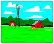 乡村景象0225,乡村景象,建筑装饰,