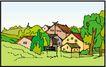乡村景象0232,乡村景象,建筑装饰,