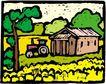乡村景象0234,乡村景象,建筑装饰,