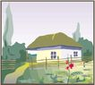 乡村景象0235,乡村景象,建筑装饰,