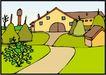 乡村景象0239,乡村景象,建筑装饰,
