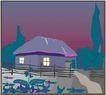 乡村景象0243,乡村景象,建筑装饰,