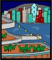 城市风景0455,城市风景,建筑装饰,
