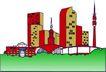城市风景0458,城市风景,建筑装饰,
