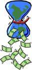 货币0045,货币,金融风暴,绿色钞票