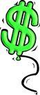 货币0048,货币,金融风暴,绿色符号