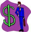 货币0056,货币,金融风暴,美元符号 商业人士