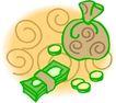 货币0058,货币,金融风暴,钱袋 钱财