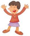 儿童0071,儿童,插画,欢乐心情