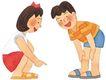 儿童0080,儿童,插画,小伙伴 一起玩耍