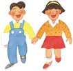 儿童0084,儿童,插画,