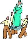 近代宗教0115,近代宗教,插画,