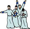 近代宗教0123,近代宗教,插画,