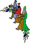 近代宗教0128,近代宗教,插画,