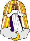 近代宗教0166,近代宗教,插画,