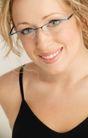 商业女性0303,商业女性,商业金融,笑容 牙齿 镜框