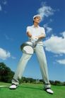 高尔夫运动0054,高尔夫运动,运动,蓝天 姿势 运动装