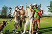 高尔夫运动0068,高尔夫运动,运动,蓝天 运动场 群体