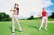 高尔夫运动0071,高尔夫运动,运动,女士 高尔夫 草坪