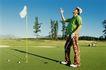 高尔夫运动0079,高尔夫运动,运动,白旗 插稳 伸手