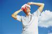 高尔夫运动0096,高尔夫运动,运动,太阳 太阳帽 阳光