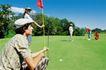 高尔夫运动0097,高尔夫运动,运动,球场 旗杆 瞄准