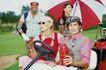 高尔夫运动0099,高尔夫运动,运动,小车 太阳伞 全家人