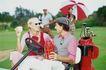 高尔夫运动0100,高尔夫运动,运动,休息 收拾 结束