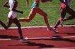 竞技比赛0174,竞技比赛,运动,红色跑道 大步迈开 步伐矫健