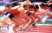 竞技比赛0176,竞技比赛,运动,起跑线上 起跑抓拍 反应敏捷