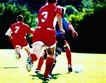 球类运动0071,球类运动,运动,踢球 二打一 抢断