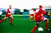 球类运动0110,球类运动,运动,绿色 抢足球 快跑