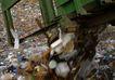 环保措施0040,环保措施,工业,废墟堆 机器 处理垃圾