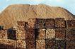 环保措施0079,环保措施,工业,草料 整理 块状